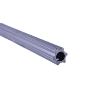 Труба кардана (шестигранная) внешняя S60 (56,8х4,3)