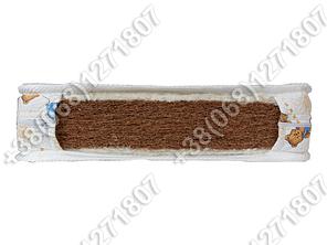 Детский кокосовый матрас 5,5см в кроватку 60х120, фото 2