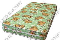 Детский матрас 8см кокос-поролон-кокос в кроватку 60х120