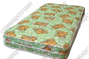 Детский матрас 8 см кокос-поролон-кокос в кроватку 60х120, фото 2