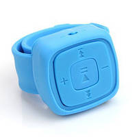 Водонепроницаемый MP3-плеер на руку. Разные цвета! Синий