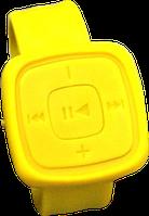 Водонепроницаемый MP3-плеер на руку. Разные цвета! Желтый