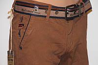 Модные светло-коричневые штаны REDMAN