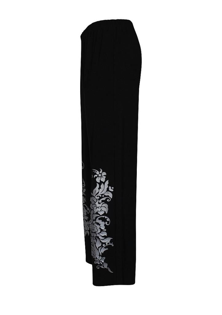 Широкие брюки на резинке Весна
