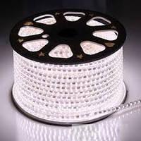 Светодиодная лента (led) SMD 3014 120 led/m IP68 220В, Белая. Супер Яркая