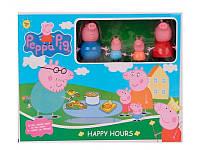 Игровой набор пикник Свинка Пеппа и семья 7700-8