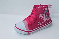 Детская обувь для спорта. Кеды для девочек от производителя Tom.M 0578D (25-30)