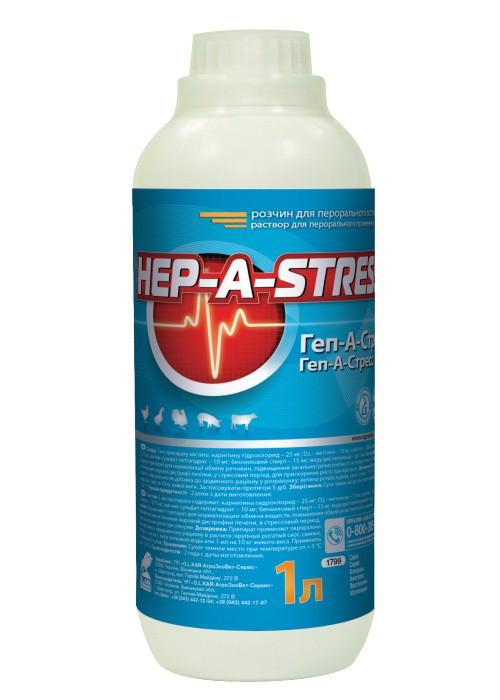 Геп-А-Стрес розчин 1 л
