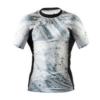 Рашгард Peresvit Immortal Silver Force Rashguard Short Sleeve Snowstorm, фото 1
