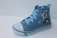 Детские кеды для мальчиков. Обувь со склада от производителя Tom.M 0513B (25-30)