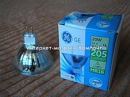 Лампа галогенная General Electric MR16 20W 12V GU5,3 (Китай)