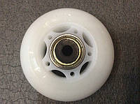 Колеса для роликов диам. 64 мм 8шт. с подшипниками и втулками