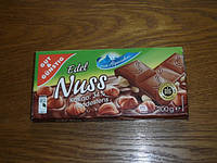 Немецкий шоколад «Edel Nuss» 200 г