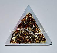 Шестигранники натуральное золото