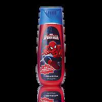 Пена для ванны и шампунь для волос и тела Человек-Паук