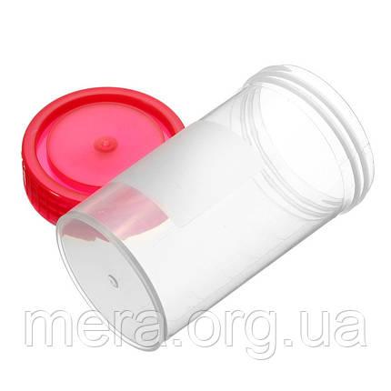 Ёмкость для сбора мочи, стерильная, 60 мл., фото 2