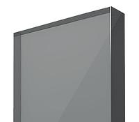Монолитный поликарбонат 10мм серебро 2050 x 3050мм