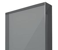 Монолитный поликарбонат 12мм серебро 2050 x 3050мм