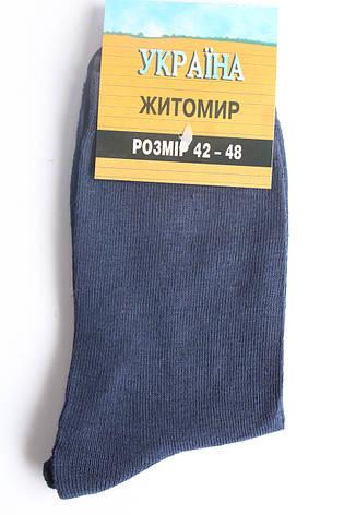 Носки мужские демисезонные 42/48 «Житомир», фото 2