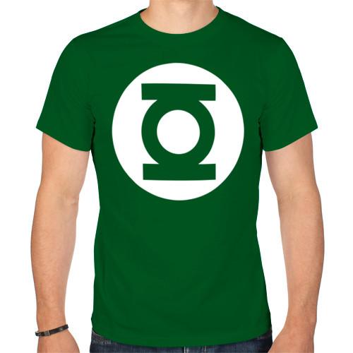 Футболка «Зелёный фонарь. Green Lantern»