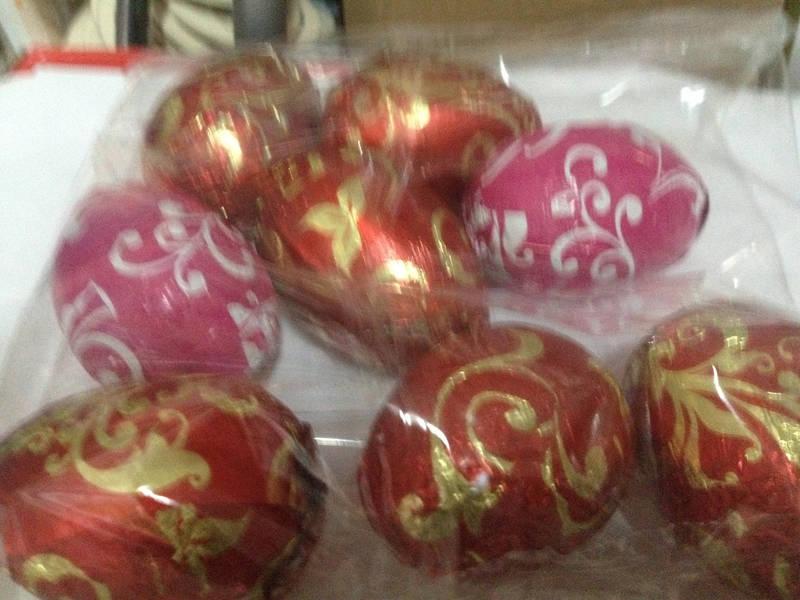 Шоколадные пасхальные яйца, фото 1