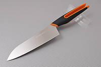 Нож кухонный Hatamoto Сантоку 160мм U-Flex HF160BO