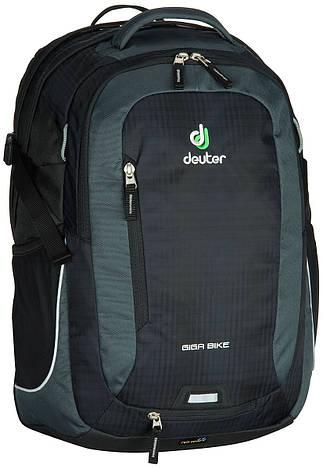 Городской рюкзак Deuter Giga Bike black/granite (80444 7410)