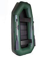 Човен надувний Омега 220 LS(PS) - гребний човен ПВХ з пересувними седениями і сланью, фото 1