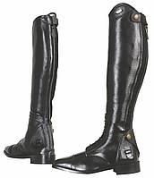 Элегантные женские сапоги для конного спорта, кожаные