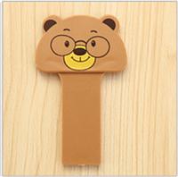 Ручка для поднятия крышки (сидения) унитаза, для малышей Мишка коричневый