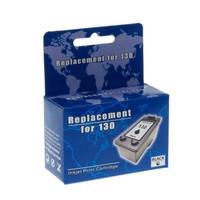 Картридж струйный MicroJet для HP DJ 5743/6543 аналог HP 130 Black (HC-F35L)