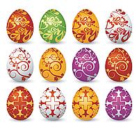 Яйцо Пасха  Вафельная картинка