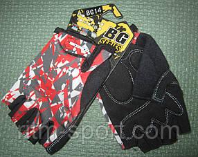 Спортивные перчатки SCOYCO с обрезанными пальцами