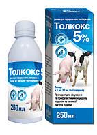 Толкокс 5% суспензия 250 мл