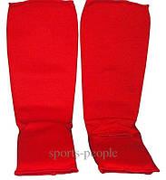Защита стопы и голени (футы), тканевые, размеры: S, М, L, XL, разн. цвета