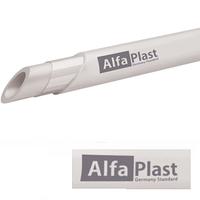 Труба PPR/AL/PPR 50 мм армированная алюминием Alfa Plast