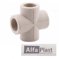 Крестовина PPR 25 мм Alfa Plast