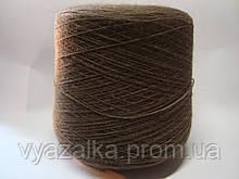 Пряжа коричневого, 100 % акрил, вес 1.719