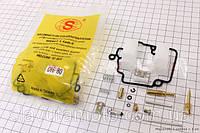 Ремонтный к-кт карбюратора 50-80сс (макс. комплектация) S скутер 50-100 куб.см
