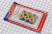 Ролики вариатора к-кт 12гр (TATA) скутер 50-100 куб.см