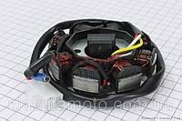 """Статор магнето 8 катушек - """"6+2"""" (генератор) Gxmotor скутер 50-100 куб.см"""