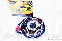 """Статор магнето 8 катушек - """"6+2"""" (генератор) TMMP скутер 50-100 куб.см"""