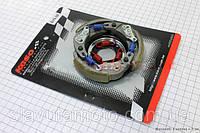 Сцепление заднего вариатора в сборе GY6 -50/AF34,(Koso) скутер 50-100 куб.см