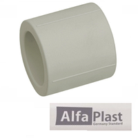 Муфта PPR 25 мм Alfa Plast