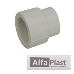 Муфта редукционная ППР Alfa Plast 40х25 мм