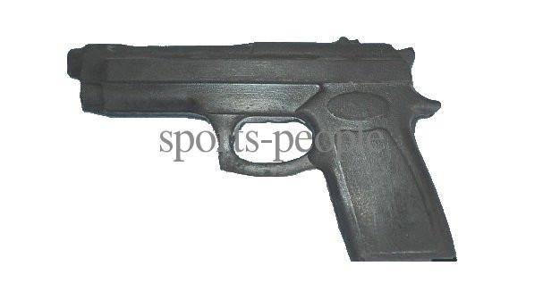 Пистолет-макет резиновый для единоборств, удобная ручка - Наш интернет-магазин: sports-people.com.ua в Одессе