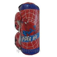 Набор боксерский: груша+перчатки, детям до 7 лет., фото 1