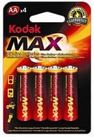 Батарейка KODAK MAX LR06 1x4 шт. блистер