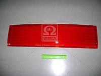 Накладка (катафот) крышки багажникамежду фонарями красный ВАЗ 2110 (производитель ДААЗ) 21100-821252600