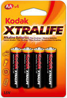 Батарейка Kodak XtraLife LR6 1х4 шт